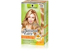 Schwarzkopf Natural & Easy barva na vlasy 536 Světle zlatoplavý makadamiový oříšek