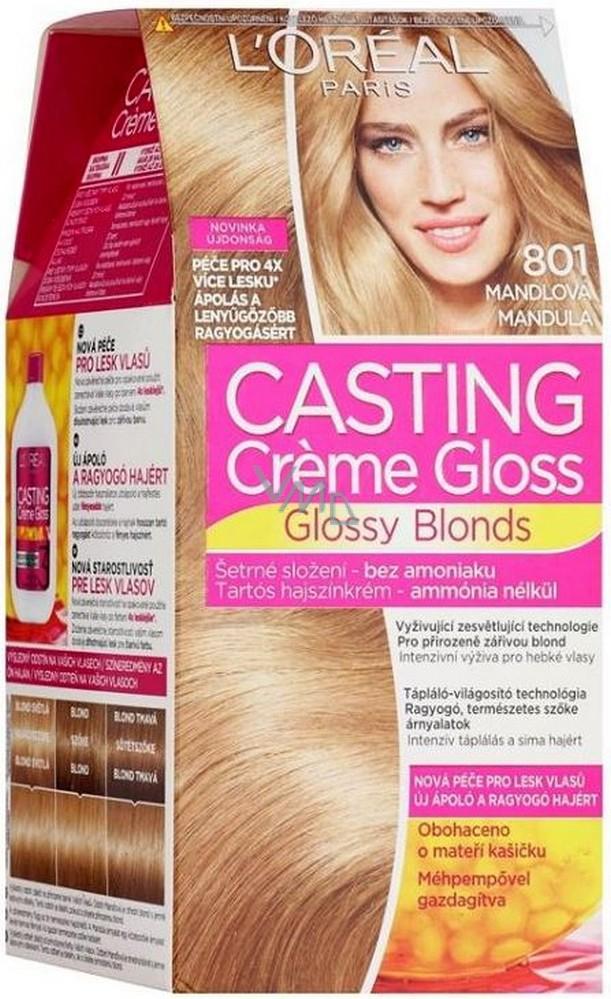 Loreal Paris Casting Creme Gloss barva na vlasy 801 mandlová - VMD ... 12f982cf3ff