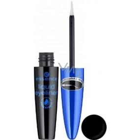 Essence Liquid Eyeliner Waterproof oční linky odstín černá 4 ml