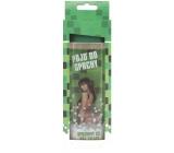 Bohemia Gifts & Cosmetics Pojď do sprchy Green Tea deodorační sprchový gel pro muže s originální 3D etiketou 300 ml