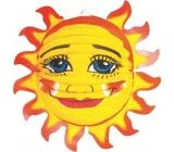 Lampion Slunce 33 x 17 cm 1 kus