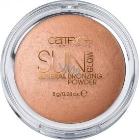 Catrice Sun Glow Mineral Bronzing Powder bronzující pudr 010 Golden Light 8 g