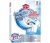 K2r Intensive White + Stain remover intenzivní bílá + odstraňovač skvrn 5 kusů