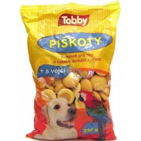 Tobby Piškoty pro psy a ostatní domácí zvířata 250 g