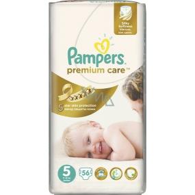 Pampers Premium Care 5 Junior 11-18 kg plenkové kalhotky 56 kusů