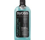 Syoss Purify & Care Roots and Tips šampon pro mastné kořínky a suché konečky 500 ml