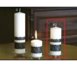 Lima Krajka svíčka bílá válec 60 x 150 mm 1 kus