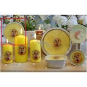 Lima Citronela svíčka proti komárům vonná repelentní talíř 4 knoty 185 g