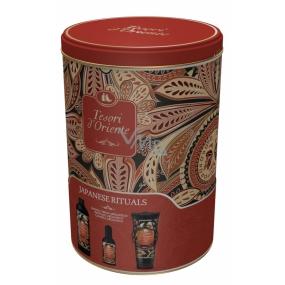 Tesori d Oriente Japanese Rituals toaletní voda 100 ml + sprchový gel 250 ml + koupelová pěna 500 ml, pro ženy dárková sada