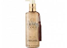 Grace Cole Oud Accord & Velvet Musk - Oudové dřevo a sametové pižmo čisticí tekuté mýdlo na ruce dávkovač 300 ml