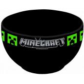 Epee Merch Minecraft - Creeper Miska keramická černá 600 ml