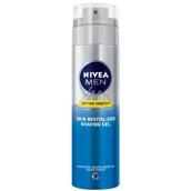 Nivea Men Active Energy revitalizační gel na holení 200 ml