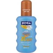 Nivea Sun Protect & Bronze SPF20+ intenzivní sprej na opalování Medium 200 ml