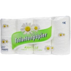 Tedi Kamille parfémovaný toaletní papír s vůní heřmánku bílý 3 vrstvý 150 útržků 8 kusů