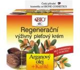 Bione Cosmetics Arganový olej & Karité regenerační výživný pleťový krém 51 ml
