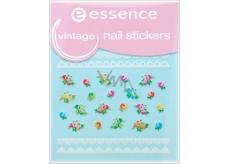 Essence Nail Art nálepky na nehty 17 Vintage 1 aršík