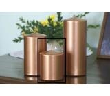 Lima Metal Serie svíčka měděná válec 80 x 100 mm 1 kus
