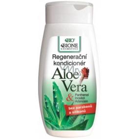 Bione Cosmetics Bio Aloe Vera & Panthenol kondicionér na vlasy 260 ml