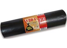Alufix Pytle na odpad pevné černé 120 litrů, 70 x 100 cm, 10 kusů