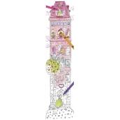Monumi Veselý metr Věž skládačka k vymalování pro děti 5+ 160 x 40 cm