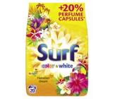 Surf Color & White Hawaiian Dream prášek na praní barevného i bílého prádla 20 dávek 1,4 kg