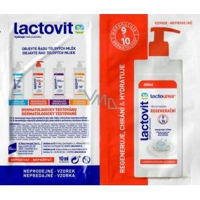 DÁREK Lactovit Lactourea tělové mléko sáček 10 ml