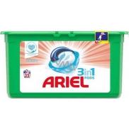 Ariel 3v1 Sensitive gelové kapsle na praní prádla 35 kusů 931 g