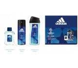 Adidas UEFA Champions League Dare Edition VI voda po holení 50 ml + sprchový gel 250 ml + deodorant sprej 150 ml, kosmetická sada