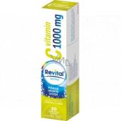 Revital Vitamin C Limetka a grep doplněk stravy pro normální funkci imunitního systému 1000 mg 20 šumivých tablet