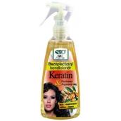 Bione Cosmetics Bio Keratin & Arganový olej bezoplachový kondicionér 260 ml