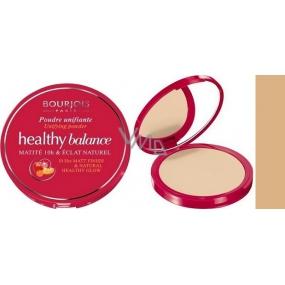 Bourjois Healthy Balance Unifying Powder kompaktní pudr 55 Beige Fonce 9 g