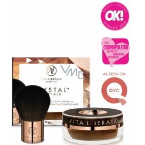 Vita Liberata Trystal Minerals Powder Samoopalovací minerální exkluzivní pudr s matujícím efektem 01 Sunkissed 9 g