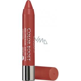 Bourjois Color Boost Glossy Finish Lipstick hydratační rtěnka 08 Sweet Macchiato 2,75 g