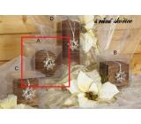 Lima Wellness Present Skořice aroma svíčka koule 80 mm 1 kus