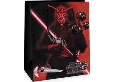 Ditipo Dárková papírová taška dětská M Star Wars červeno-černá 23 x 9,8 x 17,5 cm 2929 007