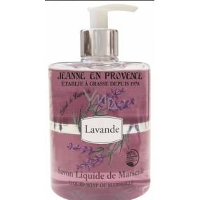 Jeanne en Provence Lavande Levandule tekuté mýdlo na ruce 500 ml
