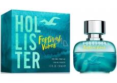 Hollister Festival Vibes For Him toaletní voda 50 ml