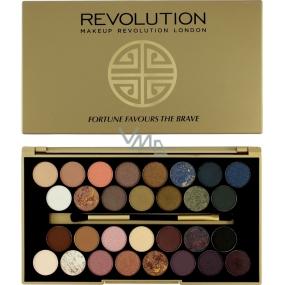 Makeup Revolution Fortune Favours The Brave paletka 30 očních stínů 16 g