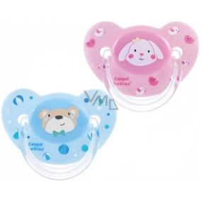 Canpol babies Sweet Fun Šidítko silikonové anatomické pro děti 0-6 měsíců 1 kus