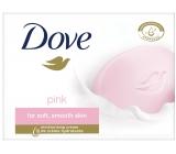 Dove Pink krémové toaletní mýdlo 100 g