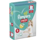 Pampers Pants velikost 6, 15+ kg plenkové kalhotky 38 kusů