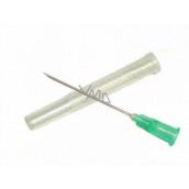 Terumo Injekční jehla 0.8 x 38 21 G X1 1/2 zelená 1 kus