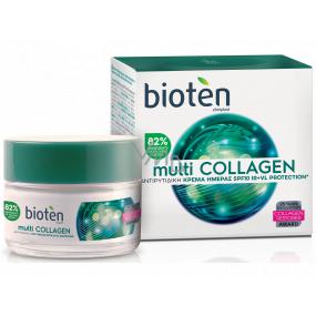 Bioten Multi Collagen SPF10 denní krém proti vráskám 50 ml