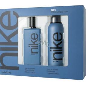 Nike Blue Premium Edition toaletní voda pro muže 100 ml + deodorant sprej 200 ml, dárková sada