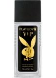 Playboy Vip for Him parfémovaný deodorant sklo pro muže 75 ml