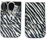 Kellermann 3 Swords luxusní manikúra zebra 6 dílná Fashion Materials v aktuálním módním materíálu 56212 P N