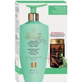 Collistar Anticellulite Cryo Gel 400 ml + Anticellulite Kapsle čisté aktivní látky proti celulitidě 7 x 4 ml, kosmetická sada