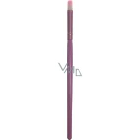 Kosmetický štětec kulatý rovný růžový 30190 15 cm