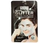 Beauty Formulas Stříbrná & třpytivá slupovací pleťová maska 10 g