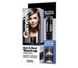 Delia Cosmetics Cameleo Hair & Root Korektor zakrývá kořeny a šedé vlasy Black 4,6g